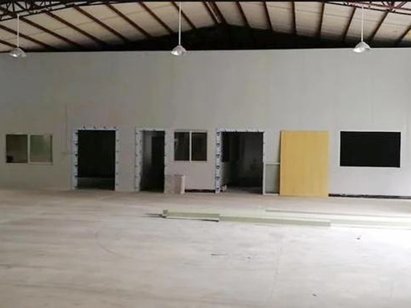 净化厂房改造