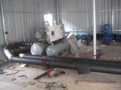 邦shi迪ling冻机房施工中